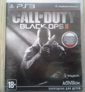 Call of duty bo2 и sniper elite 3 на PS3