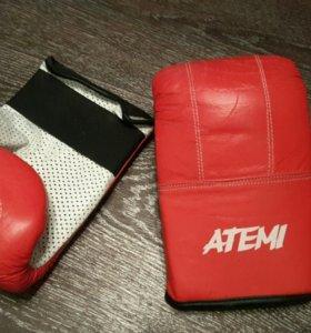 Перчатки снарядные Atemi 03-003