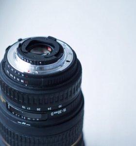 Sigma 15-30mm f/3.5-4.5 Nikon F