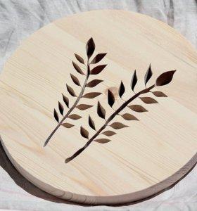 Изделия из массива дерева ручной работы.(Eco)