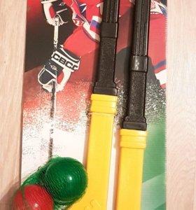 Хоккейный набор детский