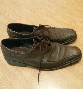 Ботинки Р. 45, кожанные