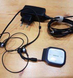 Bluetooth-гарнитура Nokia BH-214 (чёрный)