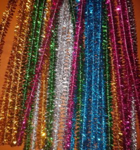 Набор блестящей цветной проволоки