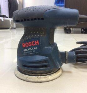 Шлифовальная машинка Bosch gex 125-1 ae