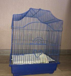 Клетка для попугая маленькая