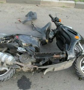 Восстановление скутеров после ДТП
