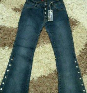 Новые джинсы(29разм)