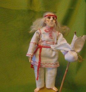 сувенирная интерерная кукла
