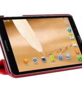 "Чехол для Samsung Galaxy Tab 4 (8.0"") красный"