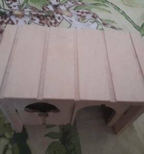 Домик для джунгарских хомяков