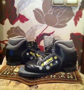 Лыжные ботинки р 33