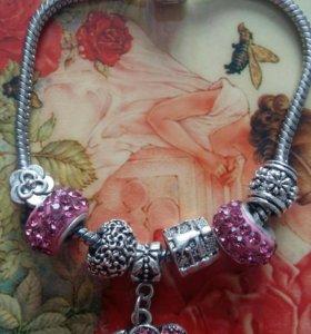 Новый браслет (Pandora)