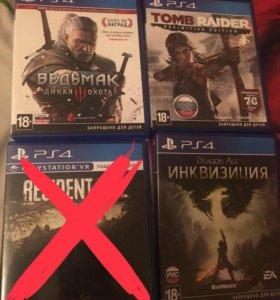 Диски на PlayStation 4, цены в комментариях!