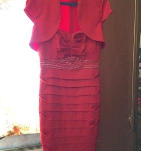 Платье+болеро. Торг