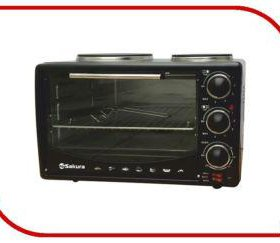 духовка электро SA-7015HBK 2950Вт 32л 2конф/чуг