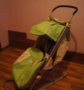 Санки-коляска Nika Детям 4 - 4 месяца пользования