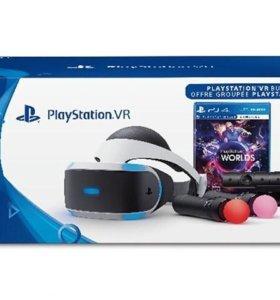 Playstation VR полный комплект + игра