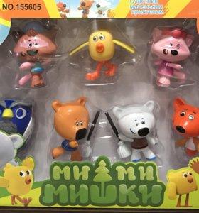 Мишки мими мишки набор игрушек герои из мультика