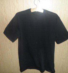 фуфайка(футболка) для  мужчин черного цвета