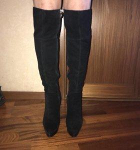 Сапоги ботфорты женские зимние 39 размер