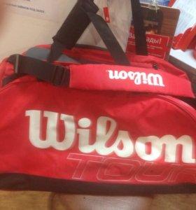 Новая сумка для большого тенниса Vilson