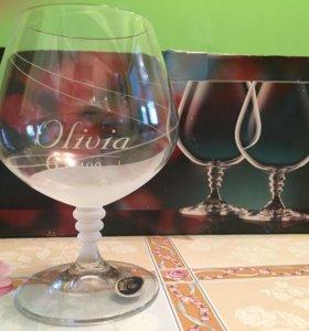Новые бокалы для коньяка