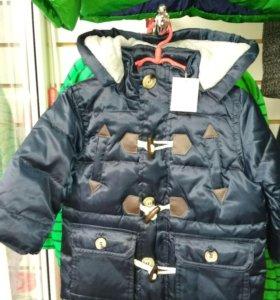 Куртка-польто  на мальчика