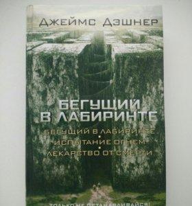 """Книга """"Бегущий в лабиринте"""" Джеймса Дэшнера"""