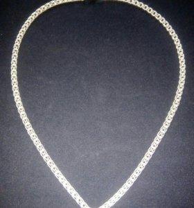 Цепь серебряная