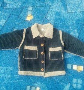 Ветровка (теплая курточка) для мальчика