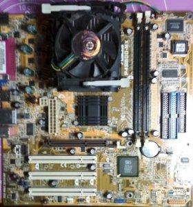 Материнская плата Asus P4S800-MX
