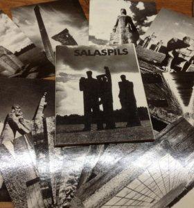 Набор открыток Саласпилс 1986 г