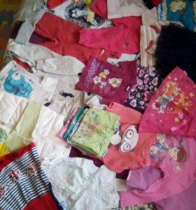 Вещи на девочку 1 года.