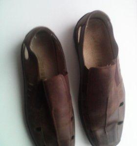 Туфли кожанные р 40