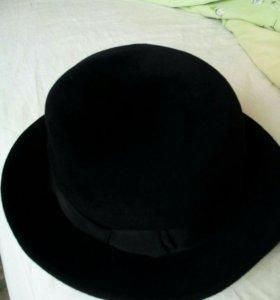 Женская шляпа велюр. производство Чехословакия