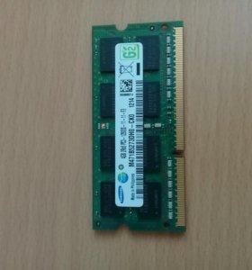 4GB 1600GHz soDIMM DDR3