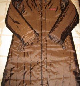 Теплое Пальто ф. diwa (шоколадного цвета)