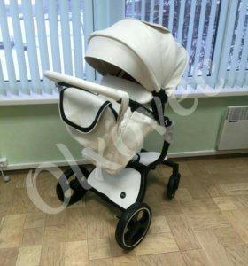 Новая сумка на коляску из экокожа