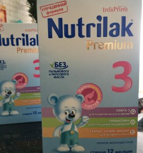 Nutrilak 3 Напиток молочный сухой (смесь)