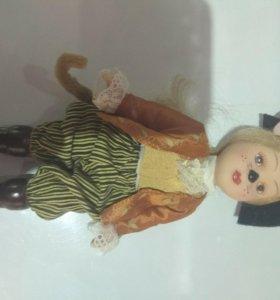 Кукла фарфоровая СССР