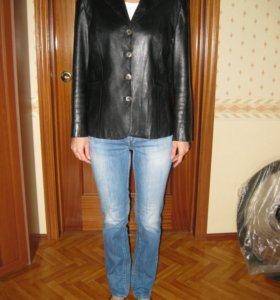 Итальянский Кожаный Пиджак (куртка)