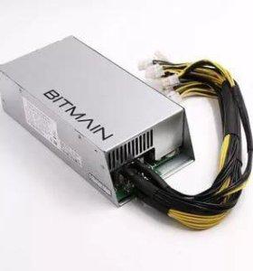 Оригинальный блок питания Bitmain APW3++