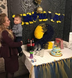 Двоечка на день рождения