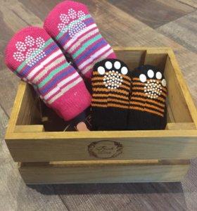 Носочки для собак и кошек.