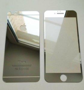 iPhone 4/4S 6/6S двусторонее защитное стекло