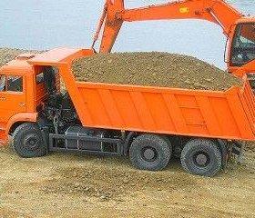 Песок, пгс, окол, чернозем, глина, перегной,