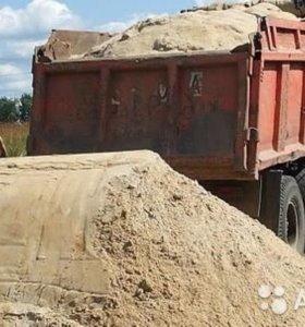 щебень гравийный, щебенчатый окол, песок, ГПС, ЩПС