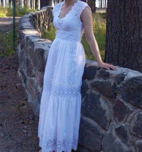 Красивущее итальянское платье