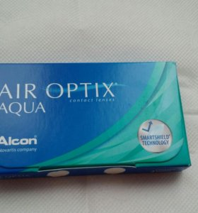 Контактные линзы AIR OPTIX AQUA -4,25